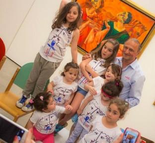 Children's activities at the Beirut Exhibition Center