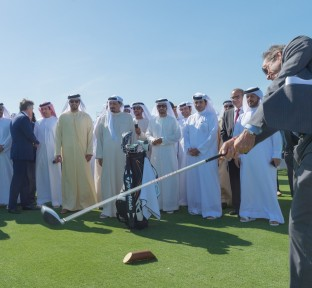 Al Zorah Golf Club in Ajman
