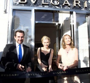 Naomi Watts inaugurates New Bvlgari Store in Cannes