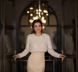 Queen Rania explores Petra