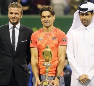 David Ferrer Wins Qatar ExxonMobil Open 2015