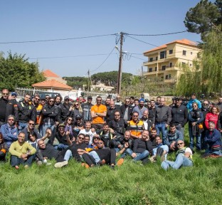 ANB Motorcycles Launches New Riding Season with the Opening Ride of 2015
