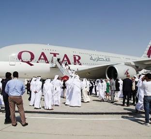 Qatar Airways' Successful Week at the Dubai Airshow 2015