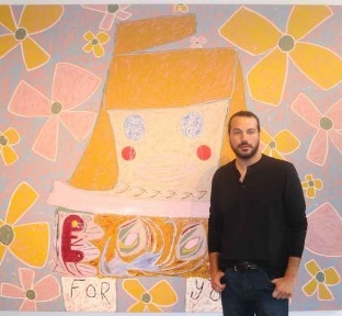 American Artist, Adam Handler, Exhibits His First Show in Lebanon