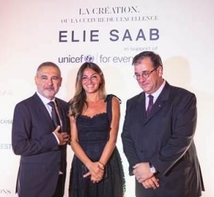 Elie Saab at the 'Résidence des Pins', Beirut