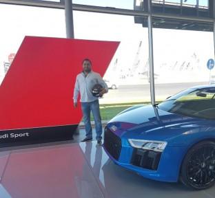 Audi Lebanon Congratulates Beirut Grand Prix R8 Driver