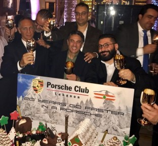 Porsche Club Lebanon 20th Anniversary