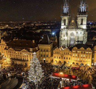 The Romantic City of Prague