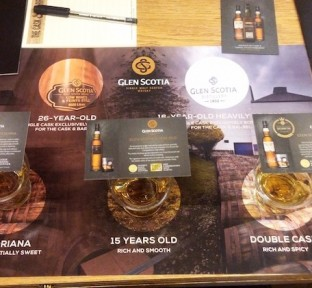 The Cask & Barrel Launches Glen Scotia Single Malt Whisky Through Master Classes Hosted by Mr. Scott Dickson