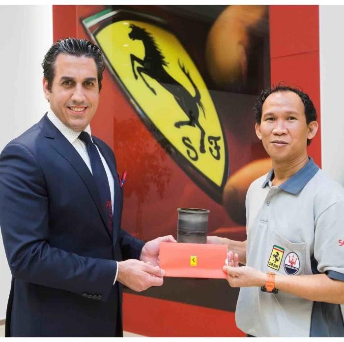 Ferrari Qatar wins honorable awards