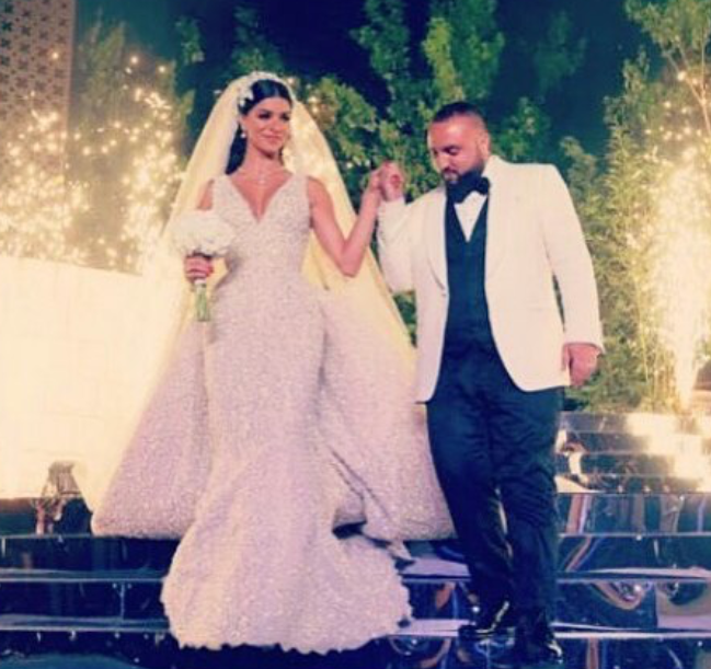Rima Fakih and Wassim SAL Slaiby's Wedding