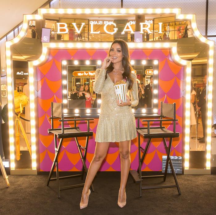 Bvlgari Sets Its Cinema Scene at the Dubai Mall
