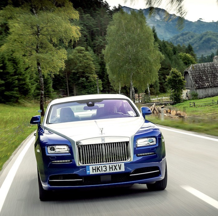Set Your Spirit Free With The New Rolls-Royce Wraith
