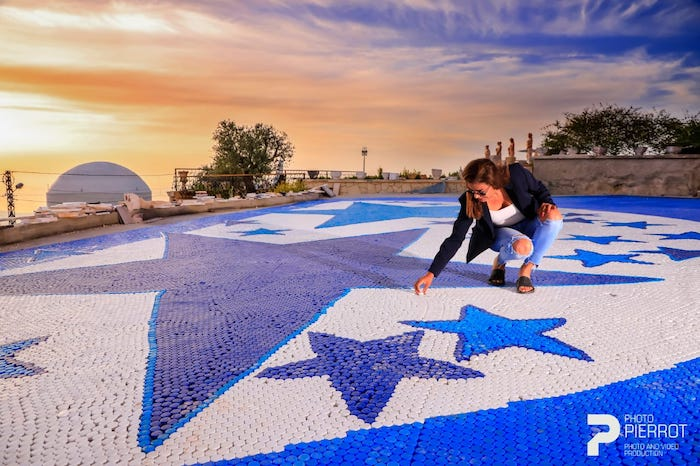 Lebanese environmental activist, Caroline Chaptini, bagged two Guinness World Records Titles