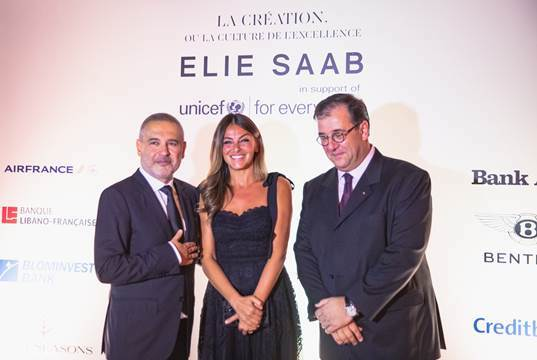 Elie Saab at the 'Résidence des Pins', Beirut