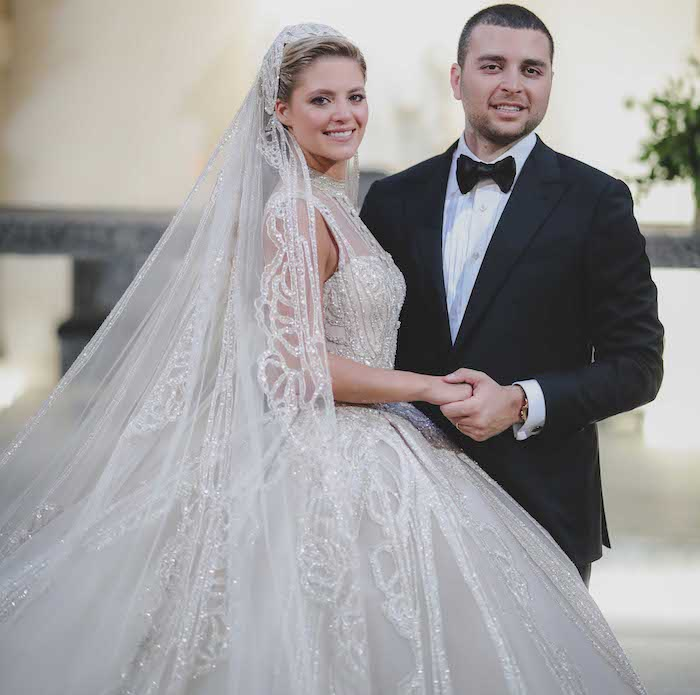 Elie Saab and Christina Mourad's Wedding in Lebanon