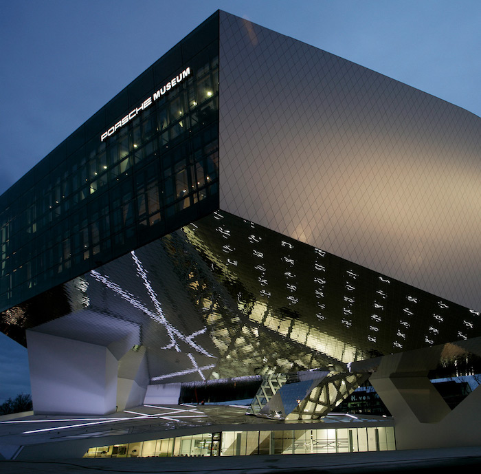Traveling in Time at the Porsche Museum