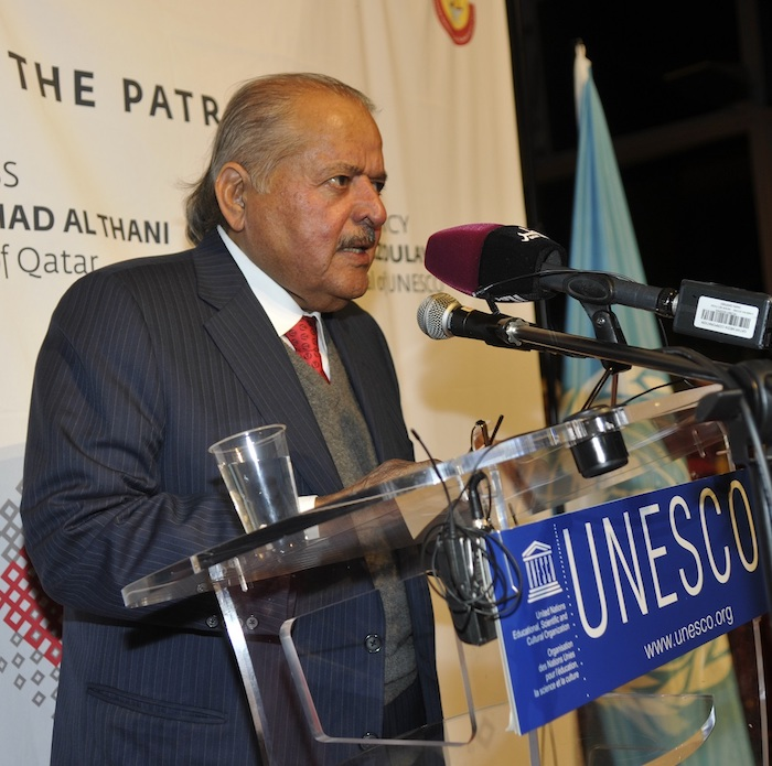 The Majlis - Cultures in Dialogue Exhibition landed at the UNESCO Headquarters in Paris