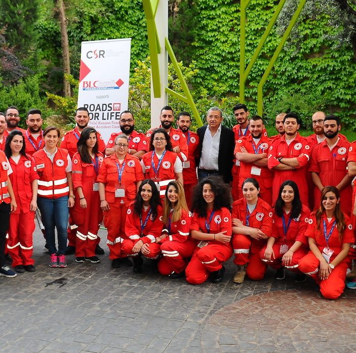 Roads for Life Delivers Certificates to New Lebanese Red Cross Graduates