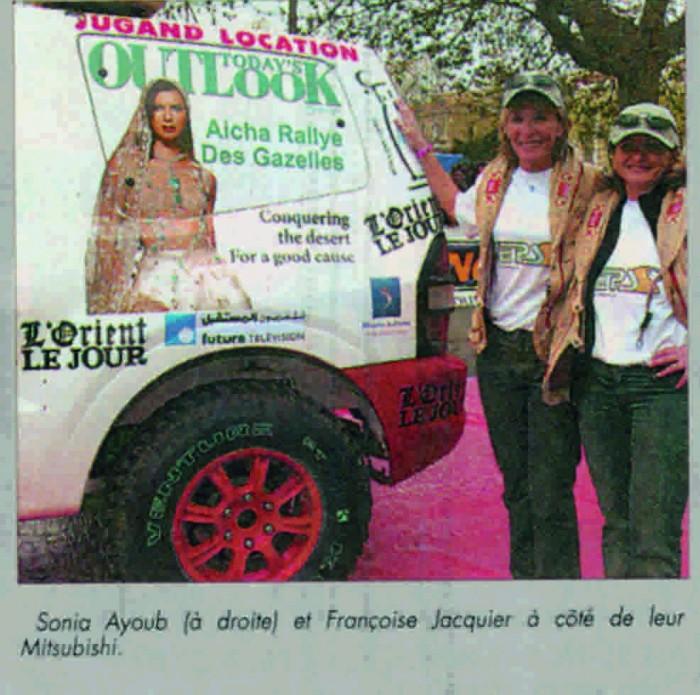 Rallye Aicha des Gazelles in Morocco